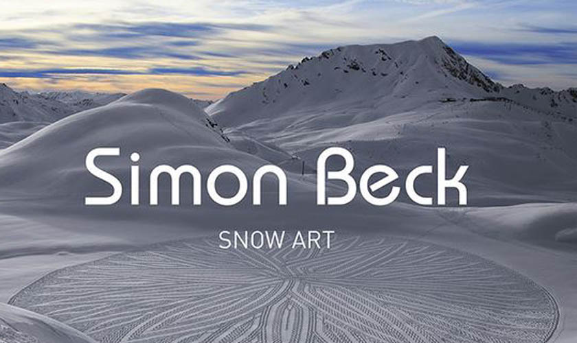Simon Beck Snowart