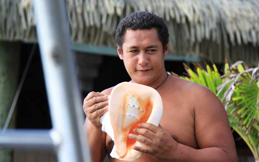 Begrüssung auf polynesisch