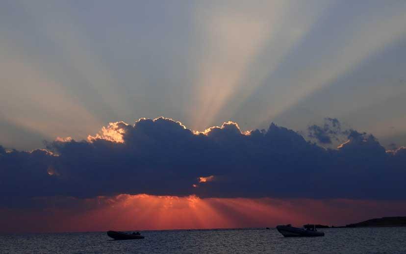 Sonnenaufgang Abu-Dabab